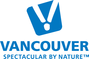 Vancouver wordmark olympic blue large logo