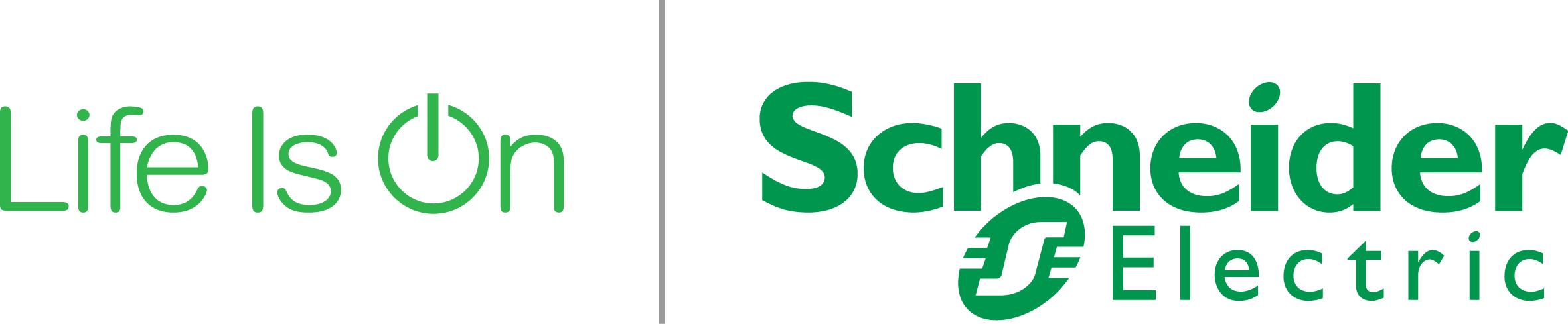 Schneider electric   life is on  logo